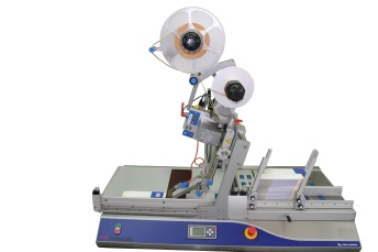 Carton and Sleeve Feeder with Herma 400 Label Applicator