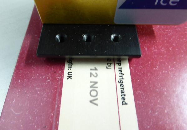 udaFORMAXX I Sleeve Date Code with ICE Viper TIJ PrintSafe