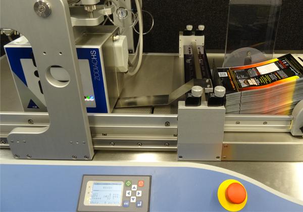 udaFORMAXX Thermal Transfer Batcode Printing on Pouches