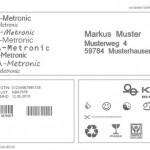 BetaJET VERSO thermal inkjet printer - print sample