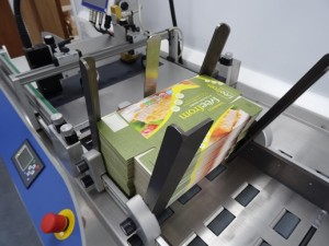udaFORMAXX with Inkjet Printing Date Code on  Cartons
