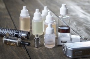 E-Liquid Refill Bottles and E-Cigarettes
