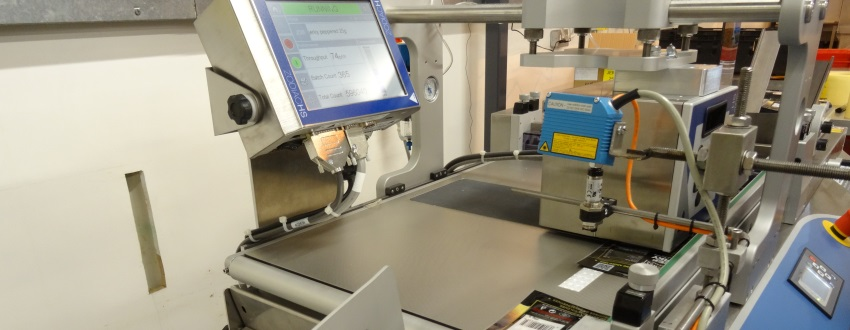 Bar code printing with thermal transfer printer