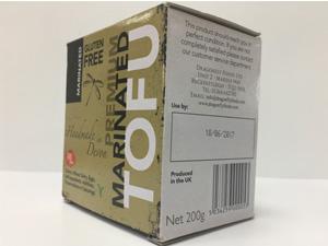 Tofu Carton Date Code - Dragonfly Foods