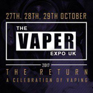 Vaper Expo UK The Return