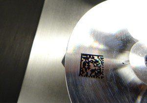 2D Code on Compressor Wheel