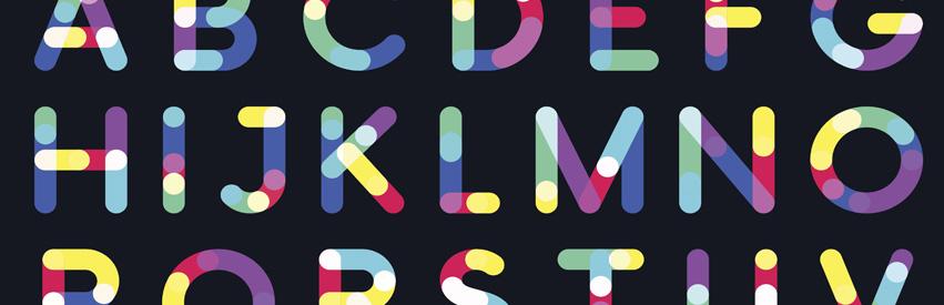 851x275 Blog Page Banner Alphabet