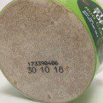 Bakedin Inkjet Code on Polypropylene Pots