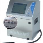 alphaJET mondo industrial inkjet printer