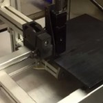 Inkjet on sliding table