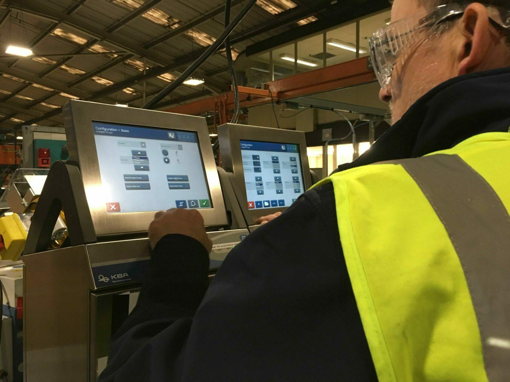 Koening & Bauer Coding Equipment Maintenance Support