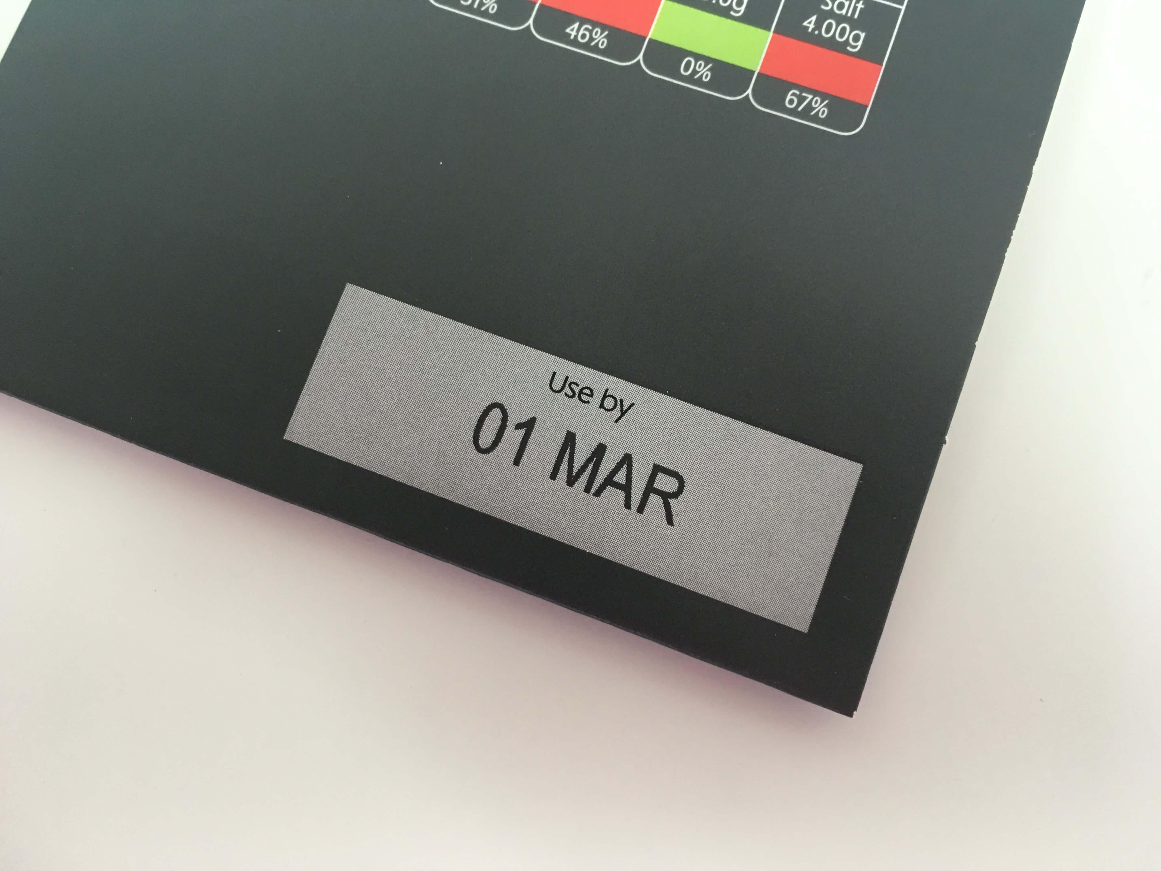 Thermal Inkjet Date Code Sleeve