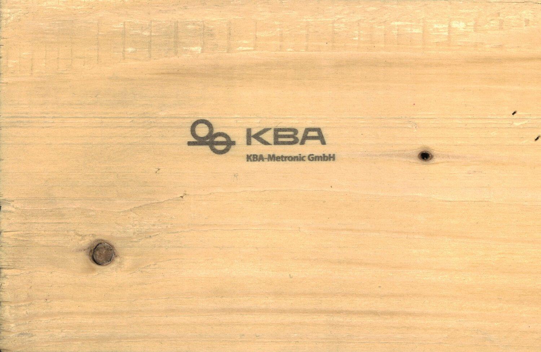 Thermal inkjet print on wood