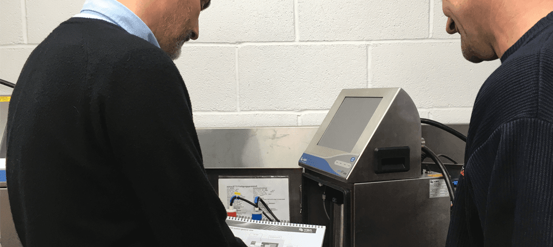 alphaJET Continuous Inkjet CIJ Training