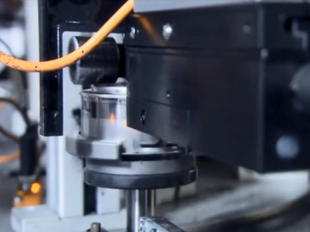 alphaJET evo industrial inkjet metal part marking