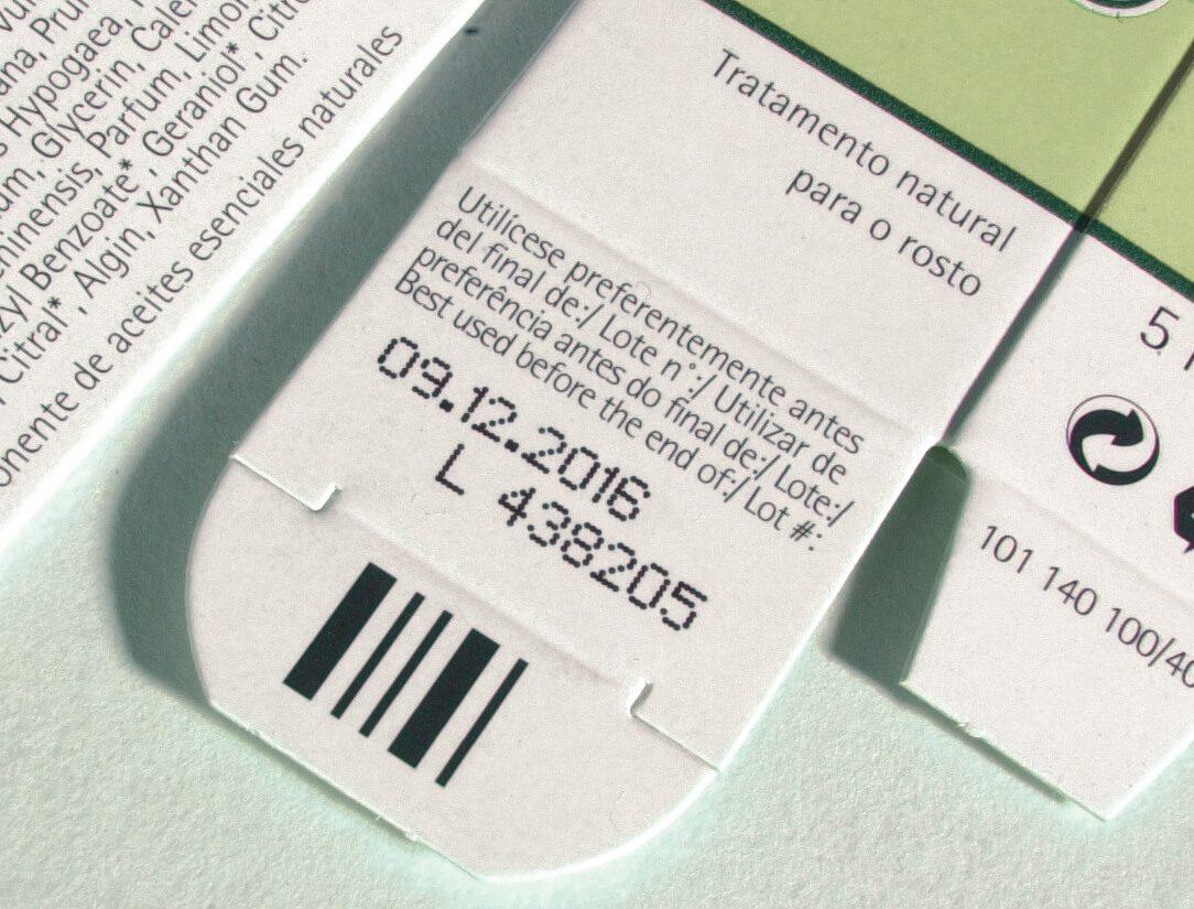 Batch Code Lot Code Carton PrintSafe