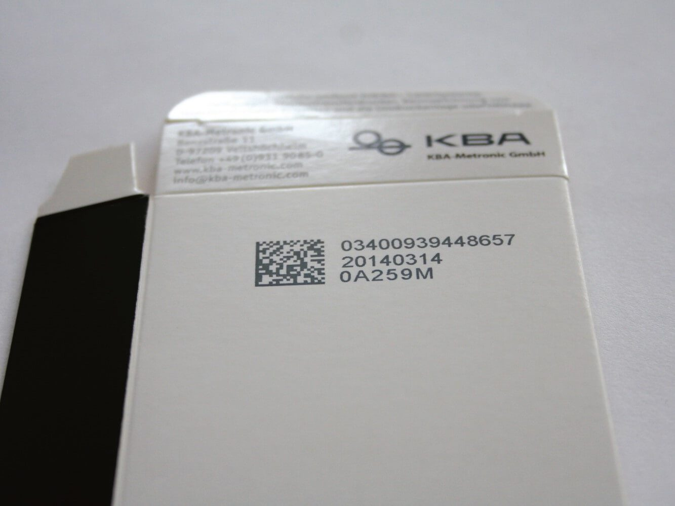 Batch Code Printer 2D Code Carton PrintSafe