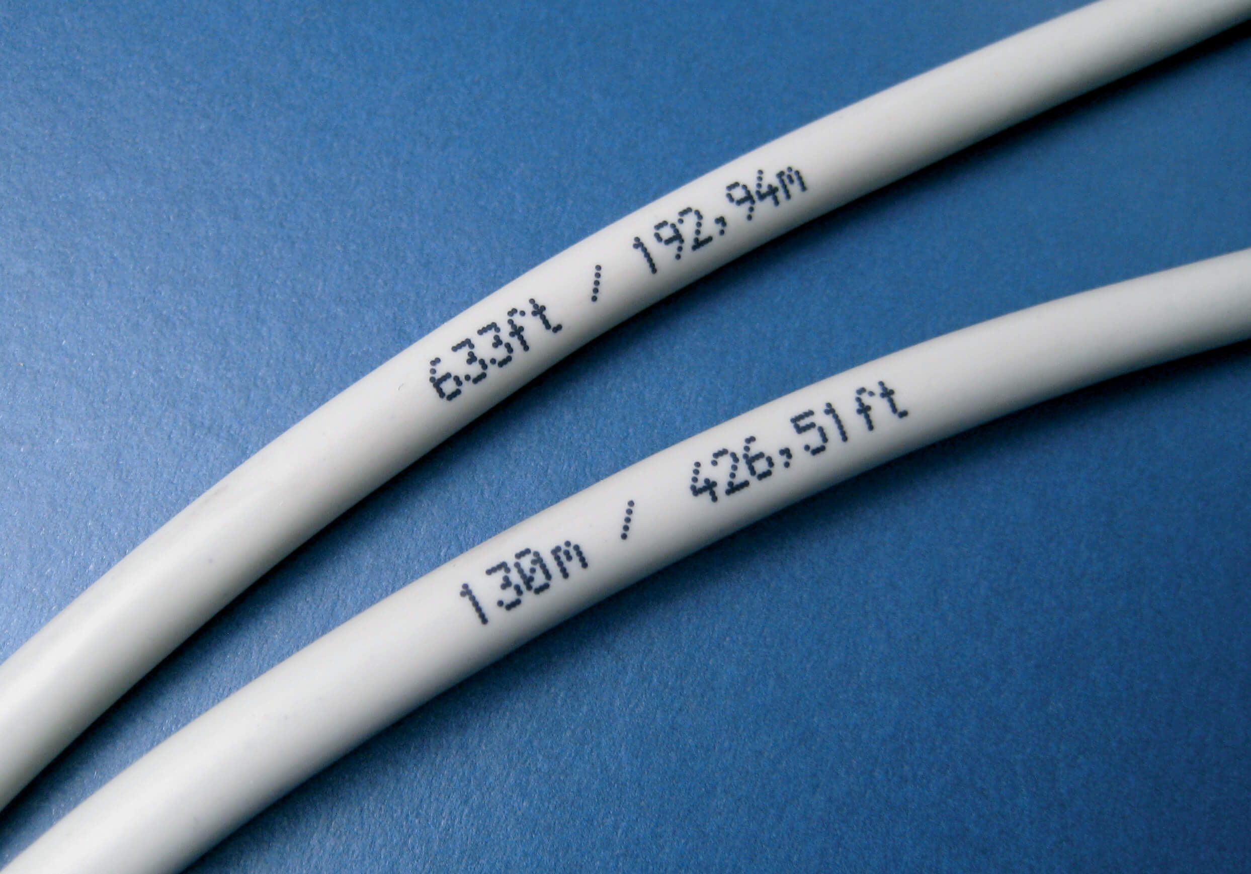 Wire and Cable Marking with Continuous Inkjet - PrintSafe Wiring And Cable on