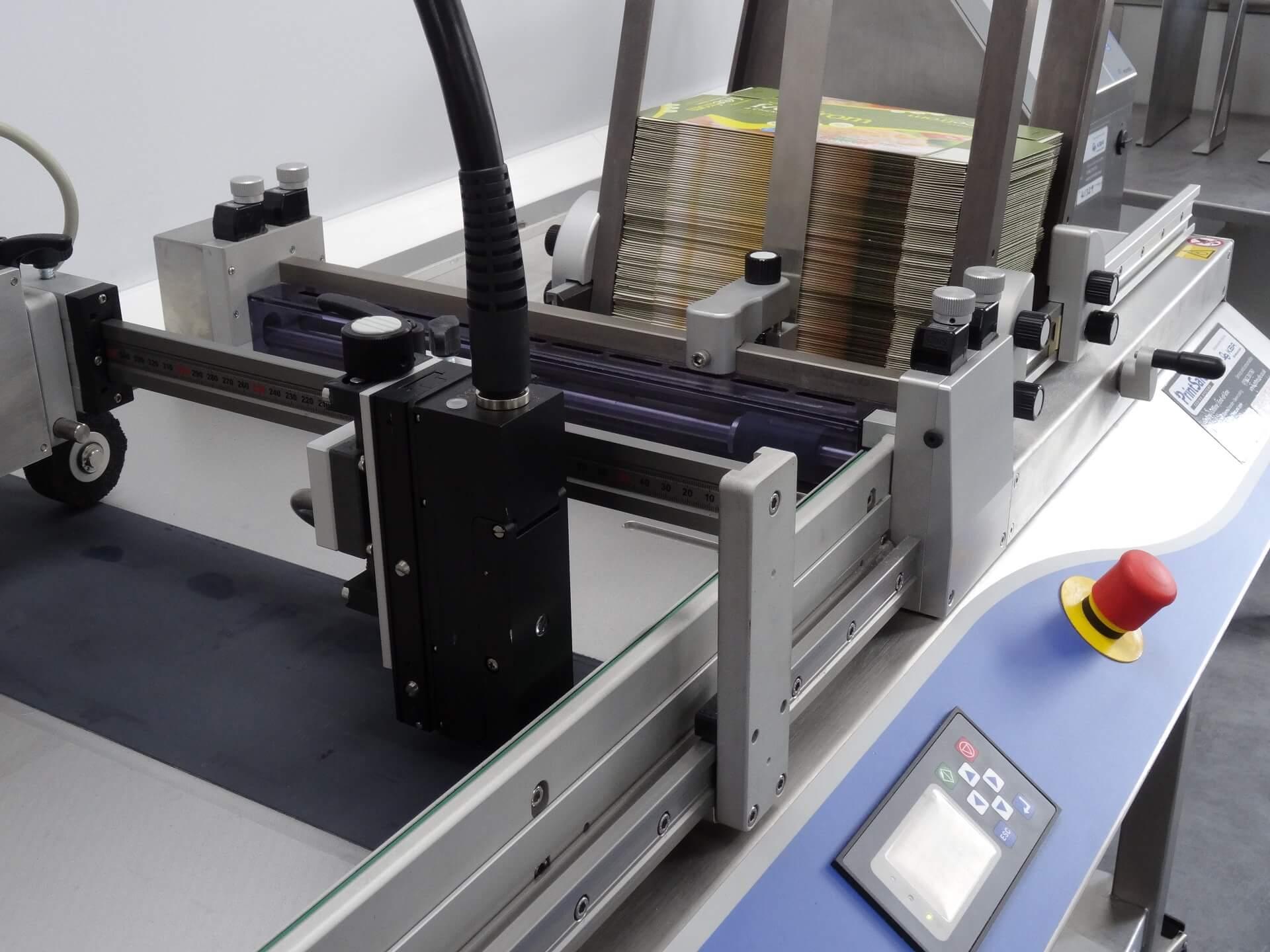 udaFORMAXX I Sleeve Carton Feeder Continuous Inkjet PrintSafe