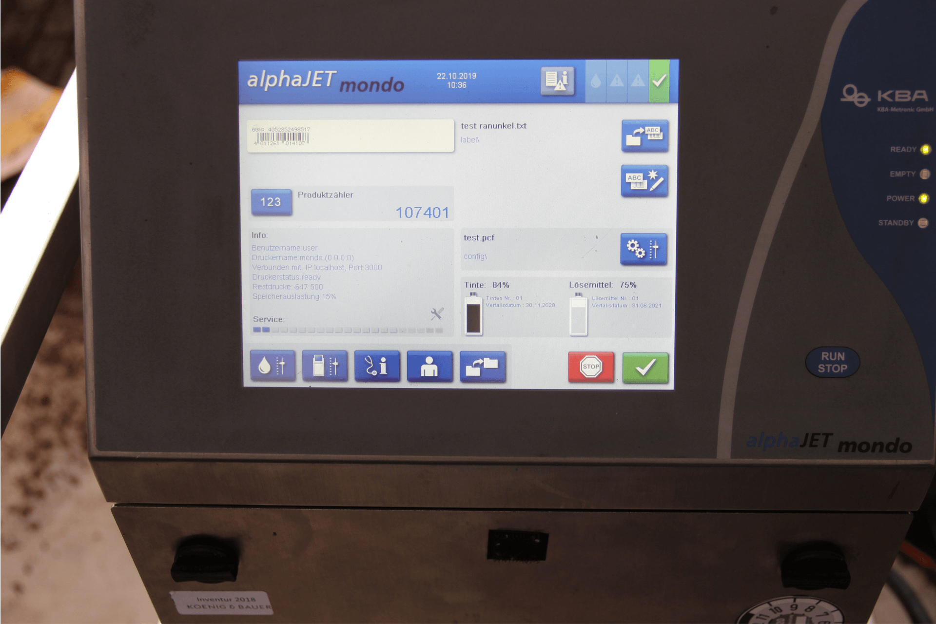 Plant Pot Printing Barcode Image Velmans PrintSafe