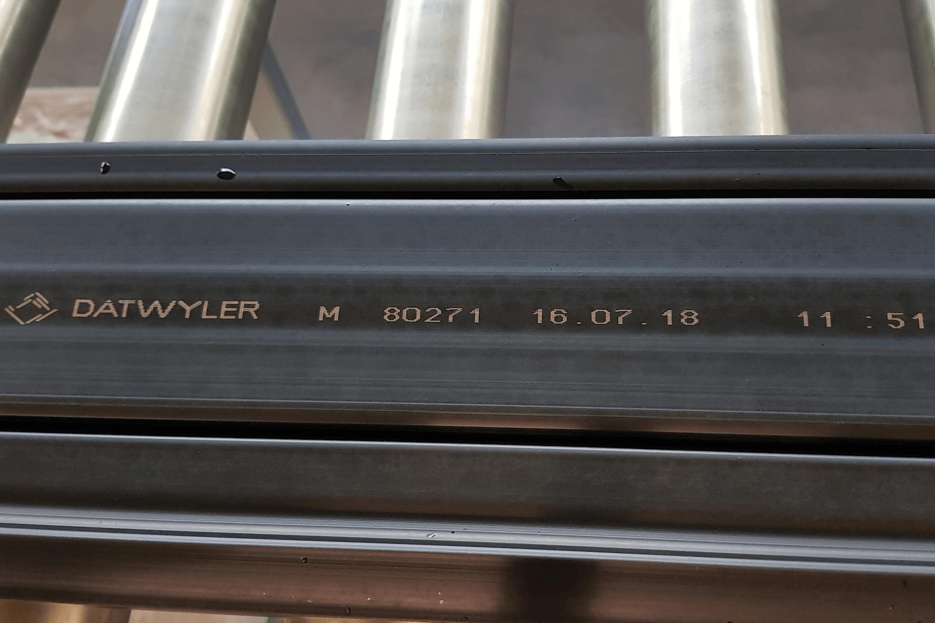 alphaJET Continuous Inkjet Print Date Time Datwyler Seaing Technologies PrintSafe