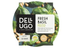 Ugo Foods Date Code Pesto Sleeve