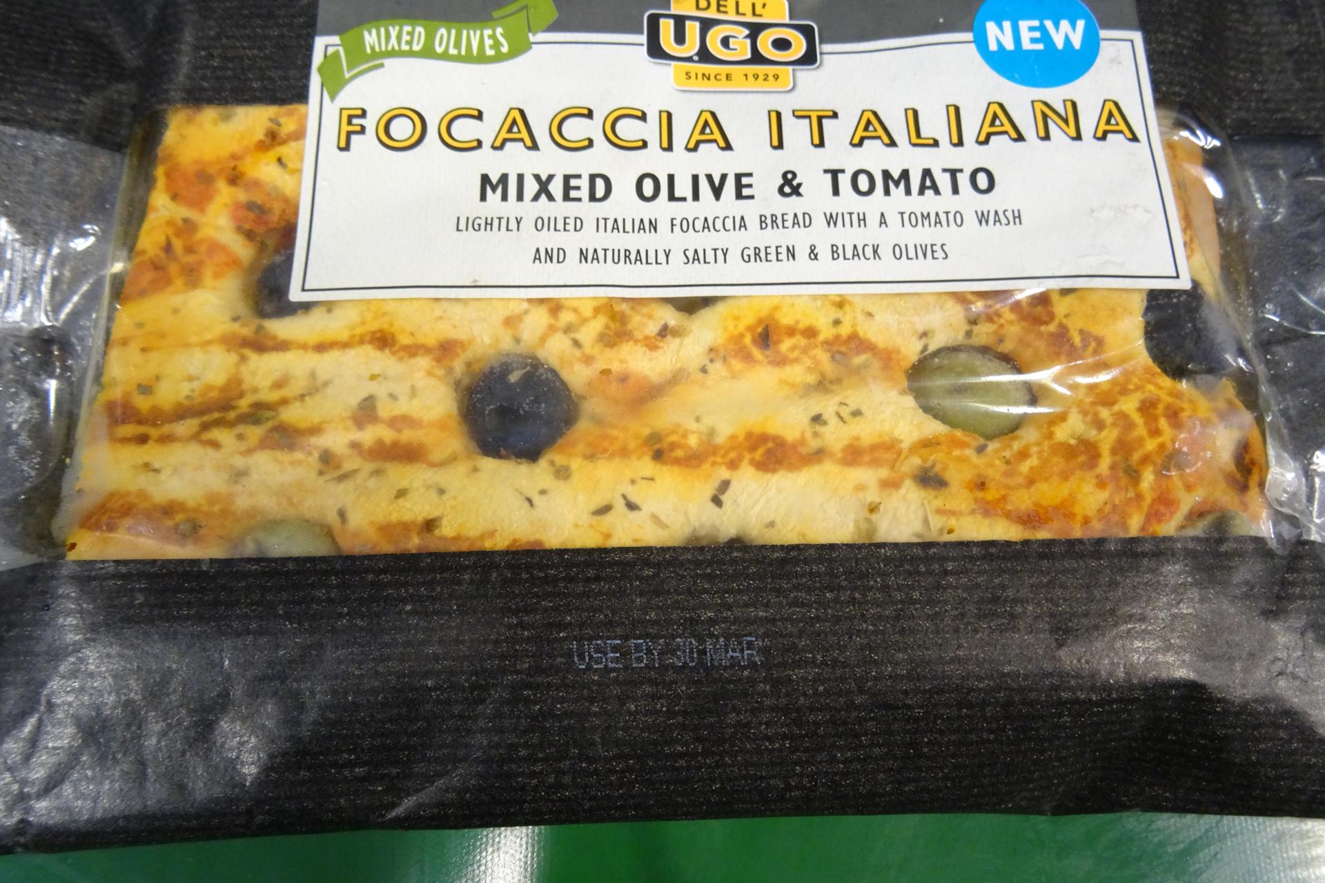 Ugo Foods White Ink Expiry Date Print